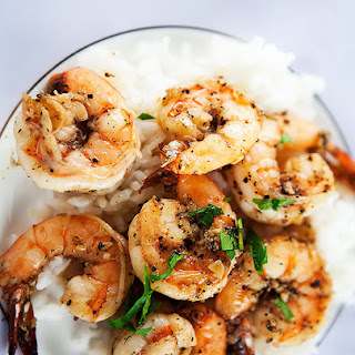 Garlic Prawns With Vegetables Recipes.