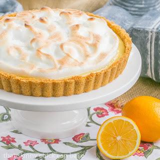 Meyer Lemon Tart.