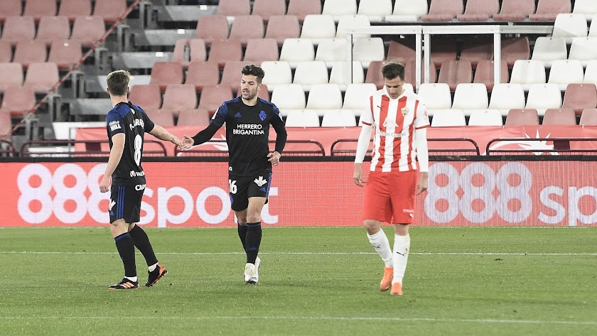 Curro Sánchez marcó gol en el Mediterráneo con la Ponferradina.