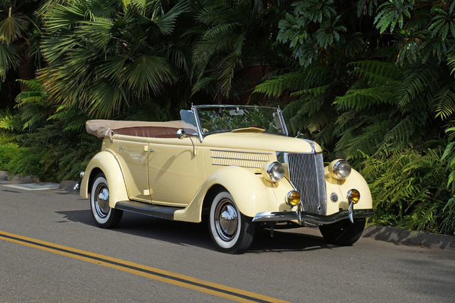 "1936 Ford Phaeton ""Get-A-way"" Car Hire California"