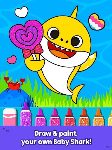 Pinkfong Baby Shark Coloring Book screenshot 10