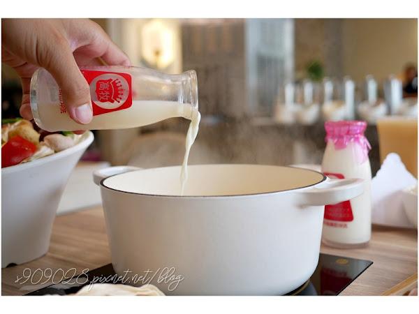 楠梓火鍋推薦- 拾鮮鍋物 霸氣自己加鮮奶的香醇濃牛奶鍋,肉盤大份量超高CP值的銅板價美食!!