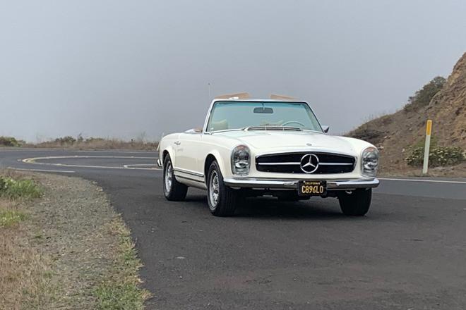1968 Mercedes Benz 280 SL (European Model) Hire CA 94904