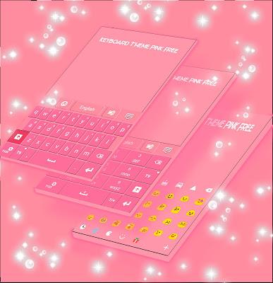 Keyboard Theme Pink Free - screenshot