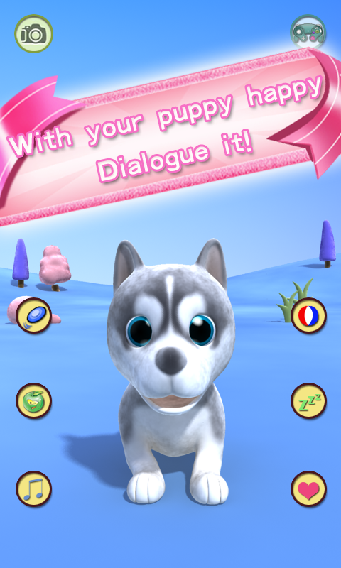 Screenshots of Talking Puppy for Android