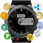 Crypto Currency Clock for Gear S2/S3 Icon