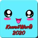 Kawaii world 2020 icon
