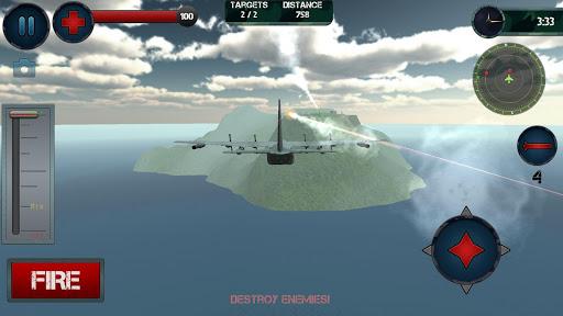 Airplane Gunship Simulator 3D