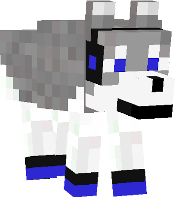 Chip decided to go all kewl so he got his headphones and sneakers and ran off. dont worry, he'll come back. (see skin called Husky (chips) #Kewl)