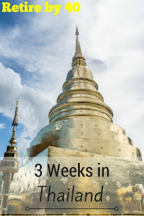 3 weeks in Thailand