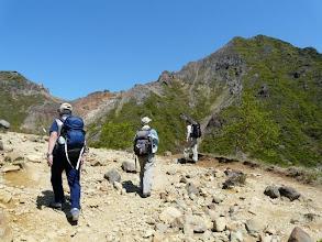 Photo: 朝日岳を右に見て