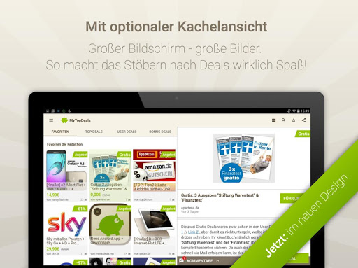MyTopDeals - Schnäppchen App  screenshots 9