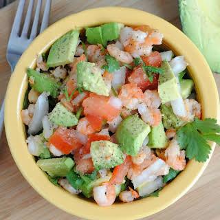 Avocado & Shrimp Salad.