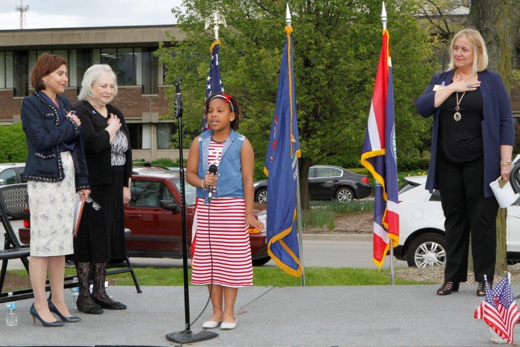 Girl with Big Voice at Rally May 2016.jpg