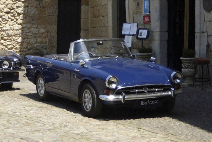 Sunbeam Alpine S5 Hire Ipswich