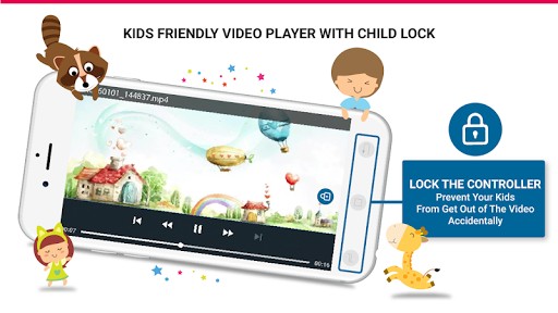 Kids Safe Video Player - YouTube Parental Controls 1.7.6 screenshots 1