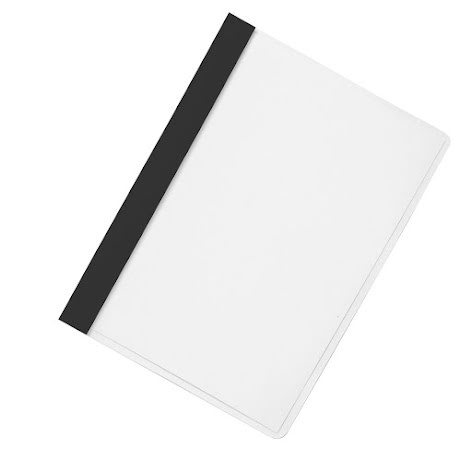 Offertmapp A4 PP-plus svart