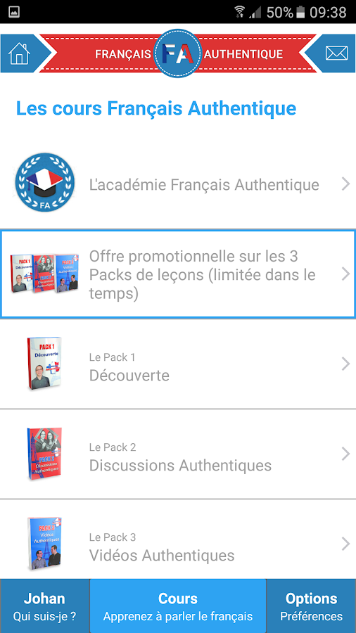 Français Authentique- screenshot