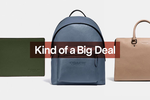 Wallets, Backpacks and More Are 30% Off at Coach