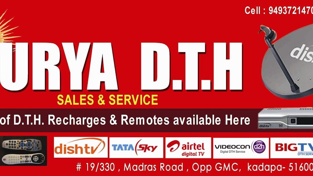 SURYA DTH ( Dish tv , Tatasky , videocan d2h , Airtel , Sun direct