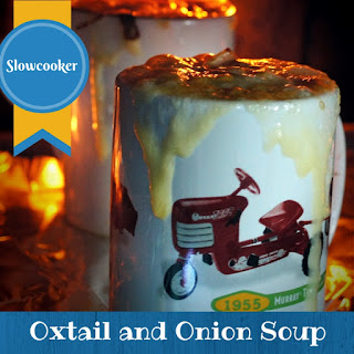 Slowcooker Oxtail and Onion Paleo Soup