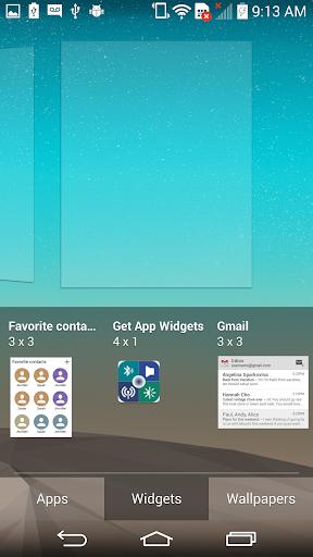 Get App Widgets