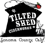 Logo for Tilted Shed Ciderworks