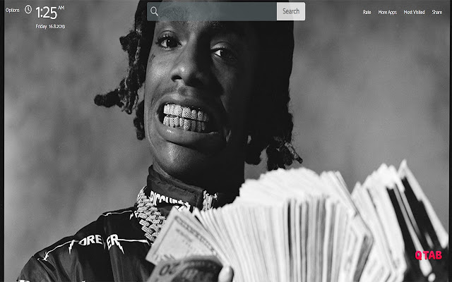 YNW Melly Murder Wallpapers Theme New Tab