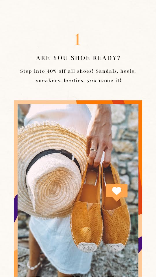 Are You Shoe Ready? - Facebook Story Template