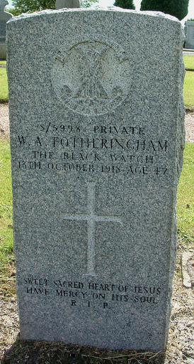 William  Alexander Fotheringham grave