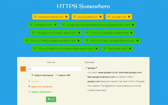 HTTPS Somewhere