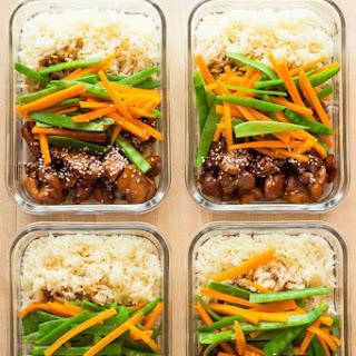 Vietnamese Chicken Meal Prep Bowls Recipe