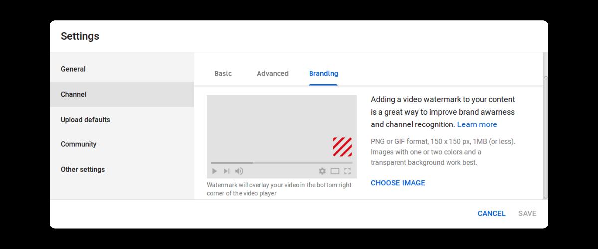 Nút Đăng ký trên Video YouTube