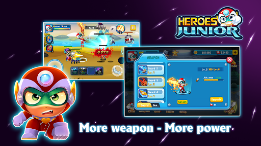 SuperHero Junior - Galaxy Wars Offline Game image | 9