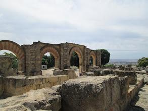 Photo: This view is overlooking thePórtico de Medina Azahara, or the porch of Medina Azahara.