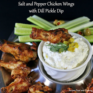 Salt and Pepper Chicken Wings