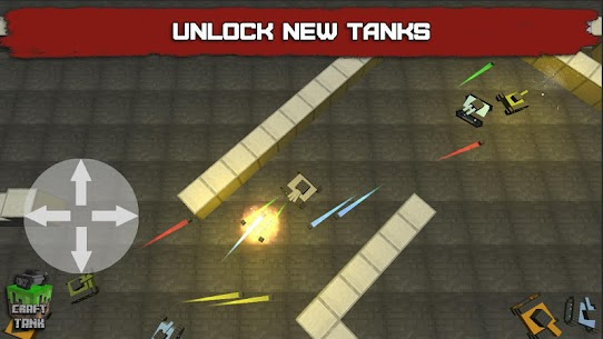 Craft Tank Mod Apk 2.2.0 (Unlimited Gold) 2