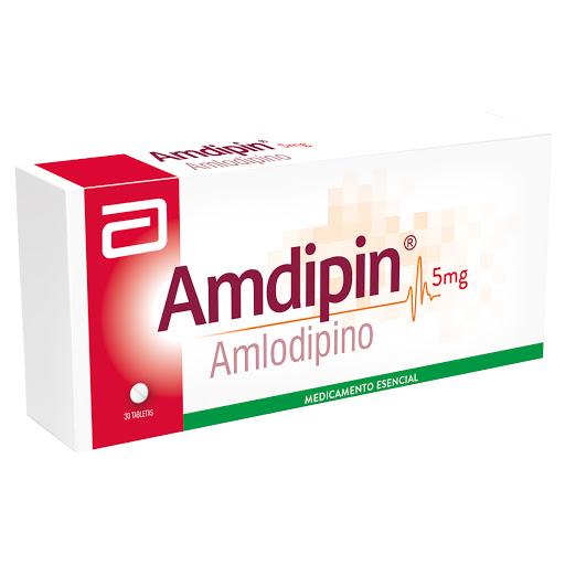 Efectos secundarios de la presión arterial de amlodipino