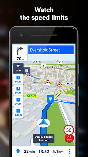 GPS Navigation & Offline Maps Sygic screenshot