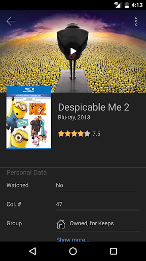 Screenshot for My Movies Pro - Movie & TV Collection Library in United States Play Store