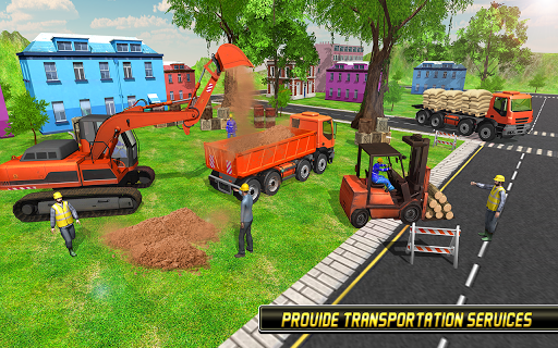 Heavy Excavator Simulator 2018 - Dump Truck Games screenshots 7