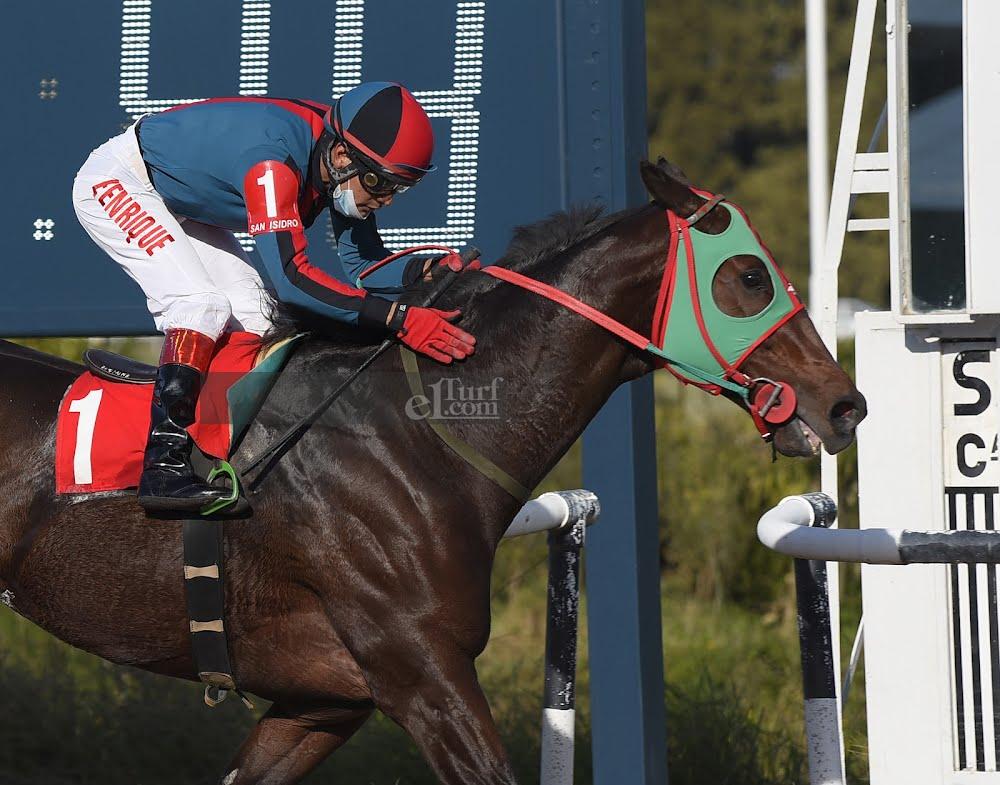Regalo Del Cielo (Roman Ruler) se quedó con la victoria en Handicap (1200m-Arena-SI). - Staff ElTurf.com