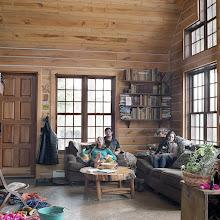 Photo: title: Blair Braverman, Quince Mountain + Handler Chrissie Bodznick, Mountain, Wisconsin date: 2016 relationship: friends, art, met on Instagram via Jeff Sharlet years known: 0-5