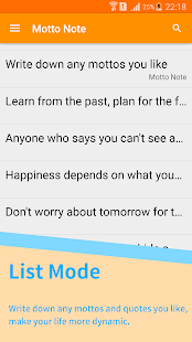 Motto Note- screenshot thumbnail