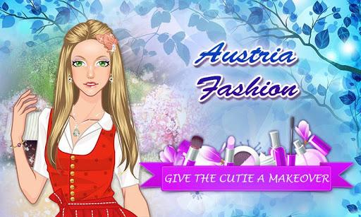 Austria Fashion: Girl Makeup