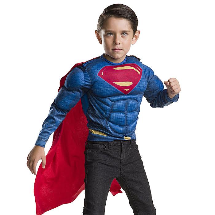 superman maskeraddräkt