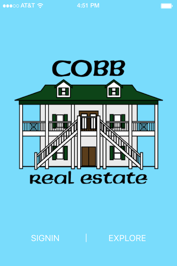 Cobb Real Estate- screenshot