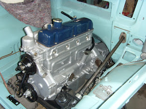 Photo: the engine was fully rebuilt