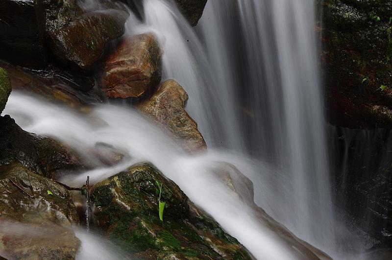 宜蘭五峰旗瀑布