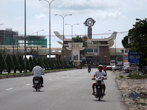 Photo: Moc Bai, Grenzposten Vietnam